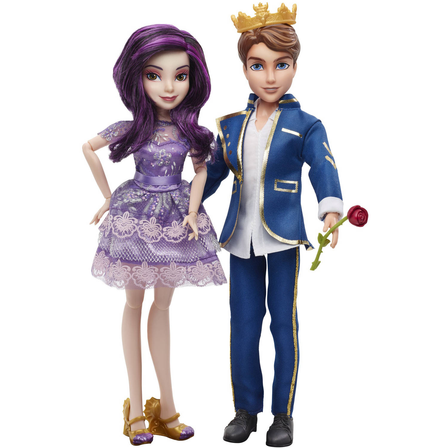 Disney Descendants 2-Pack Mal Isle of the Lost and Ben Auradon Prep Dolls