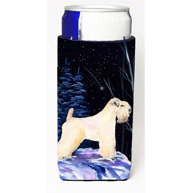 Starry Night Wheaten Terrier Soft Coated Michelob Ultra bottle sleeves For Slim Cans - image 1 de 1