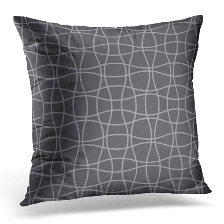 ECCOT Wavey Wave Crossing Weave Pattern Abstract Geometric Grid Mesh Labels Packaging Other Applications Carpet Pillowcase Pillow Cover Cushion Case 18x18 inch (Crossing Pattern)