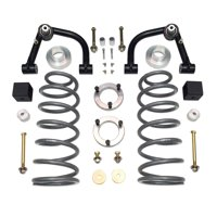 Tuff Country 54917 Lift Kit; 4 in. Front Lift; 2.5 in. Rear Lift; w/Uni-Ball Joint Style Upper Control Arms;