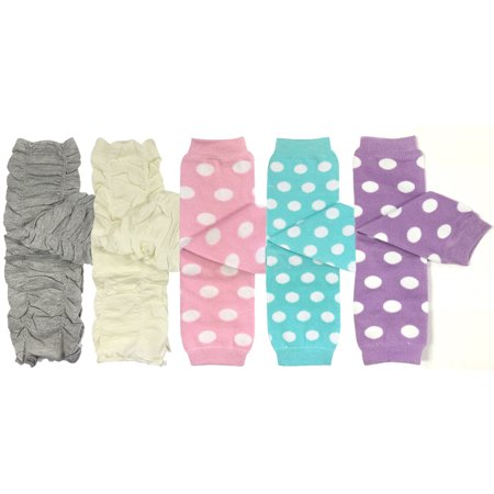 Wrapables® Set of 5 Baby & Toddler Leg Warmer Collection Premium Value Pack, VS2 (Halloween Baby Leg Warmers Wholesale)