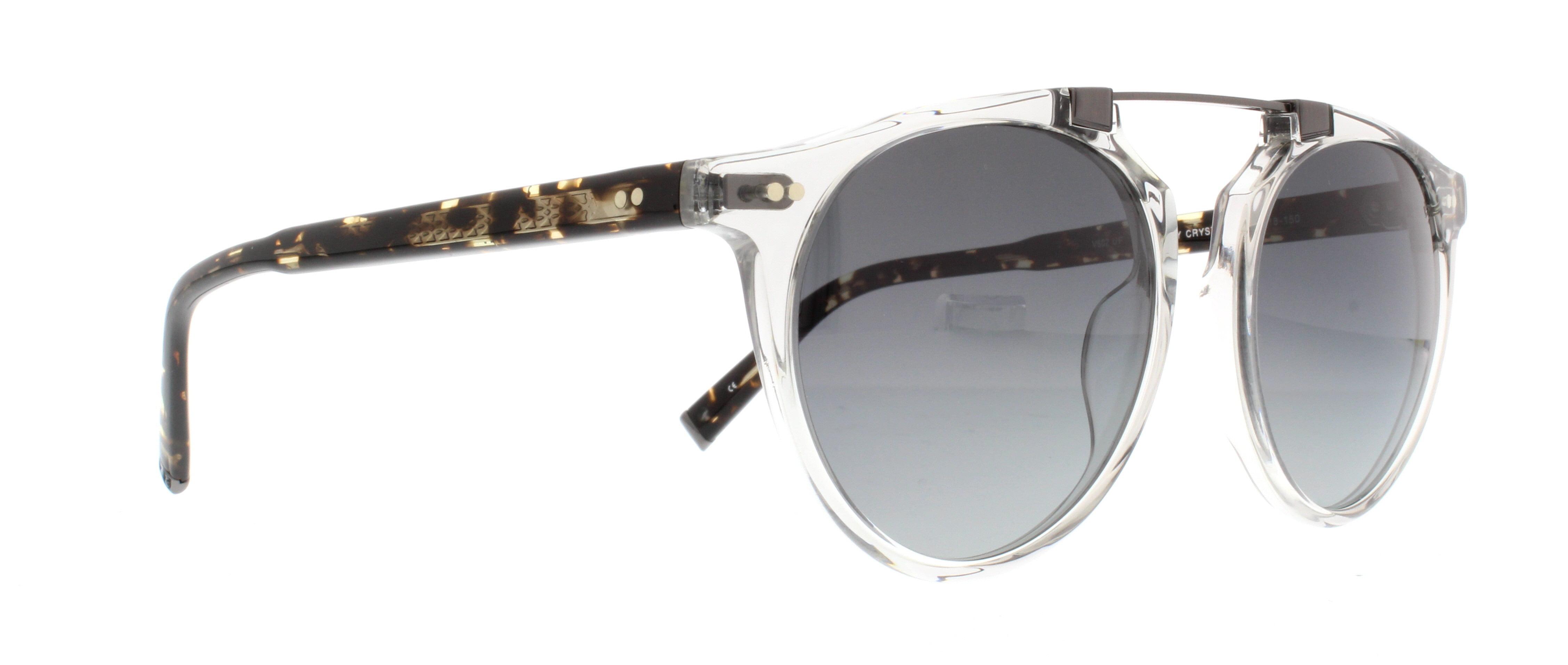 379dc234d79 John Varvatos - JOHN VARVATOS Sunglasses V602 UF Grey Crystal 52MM -  Walmart.com