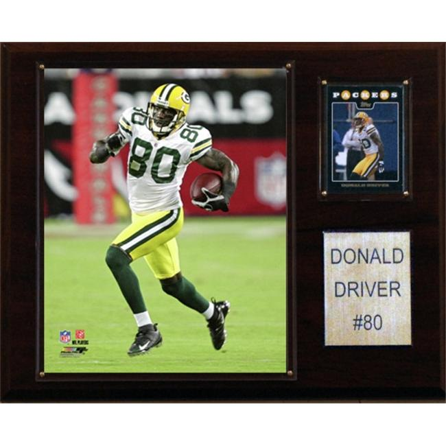 C & I Collectables 1215DRIVER NFL Donald Driver Green Bay Packers Player Plaque