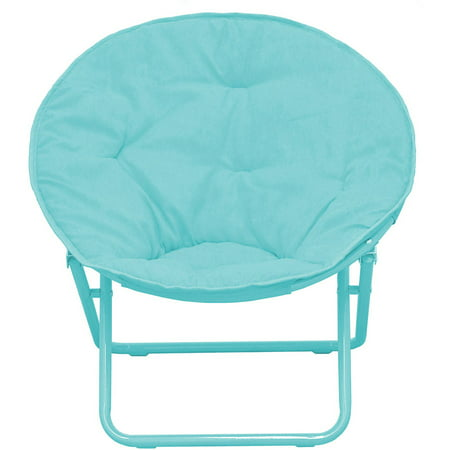 American Kids Solid Faux-Fur Saucer Chair, Multiple (Kids Moon Chair)