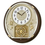 Seiko Starry Night Melodies in Motion Wall Clock - 15.25 in. Wide