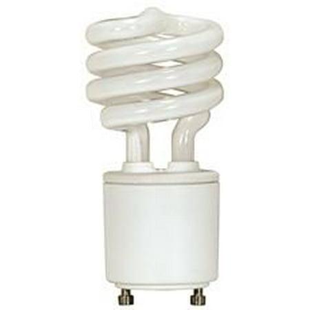 Satco Compact - SATCO SPIRAL COMPACT FLUORESCENT LAMP , 26 WATT, 2700K, 82 CRI, GU24, 120 VOLT, 12 PER BOX