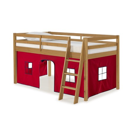 Roxy Junior Loft - Cinnamon with Red and Blue Bottom Tent