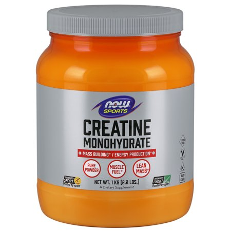 NOW Sports Nutrition, Creatine Monohydrate Powder, (Best Creatine For Sprinters)