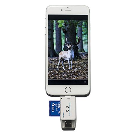 Game Trail Camera SD Viewer for Android Micro USB 2.0 OTG Port & Iphone Small (Best Android Tiff Viewer)