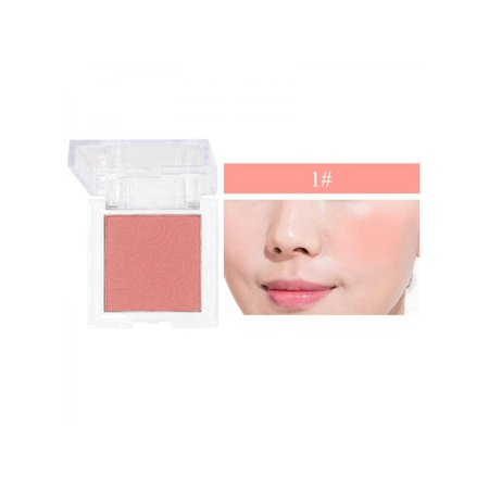 Taykoo Blush Powder Waterproof Smudge-Proof Long Lasting Good-Looking Multicolor Blusher Long Lasting Sheer Blush