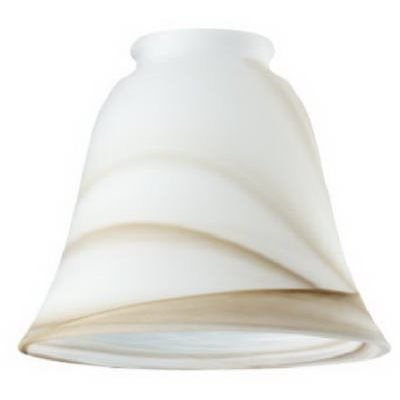 Westinghouse Lighting Corp BRN Swirl Glass Shade 6 Pack
