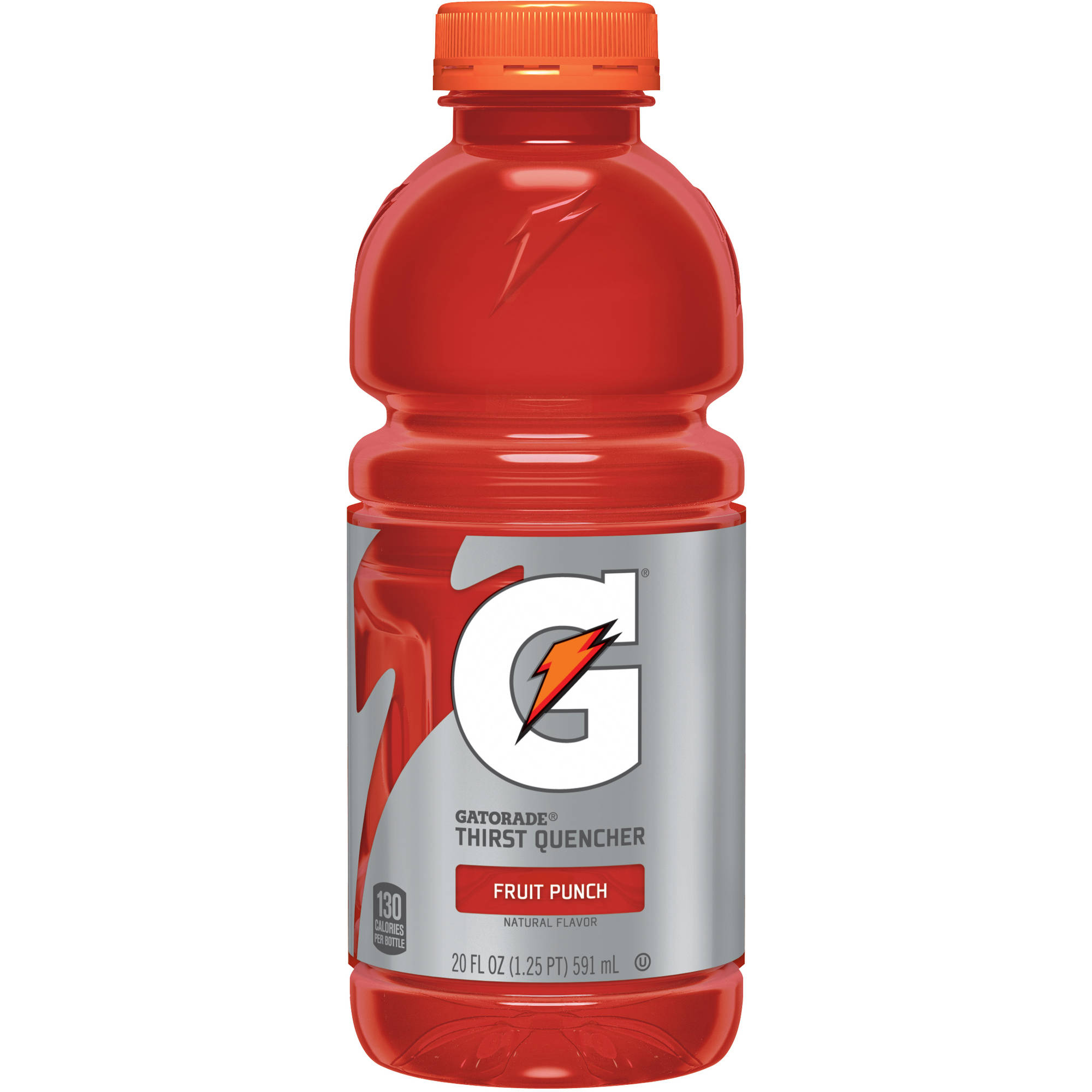 Gatorade G Fruit Punch Thirst Quencher Sports Drink, 20 fl oz, 24-Pack