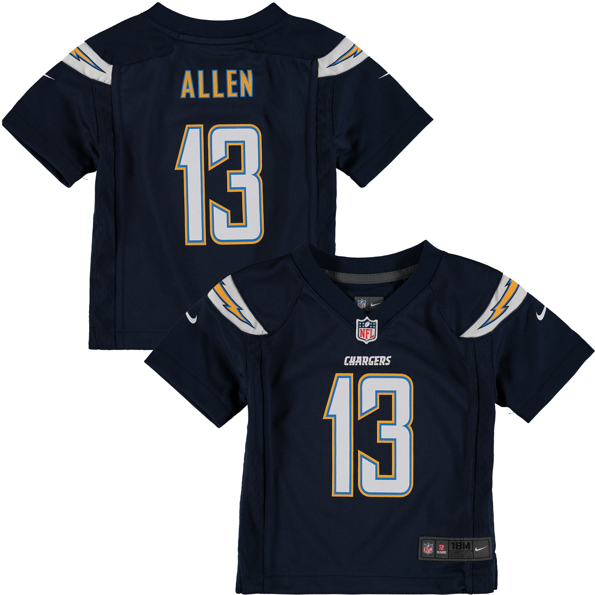 Keenan Allen Los Angeles Chargers Nike Infant Team Color Game Jersey - Navy