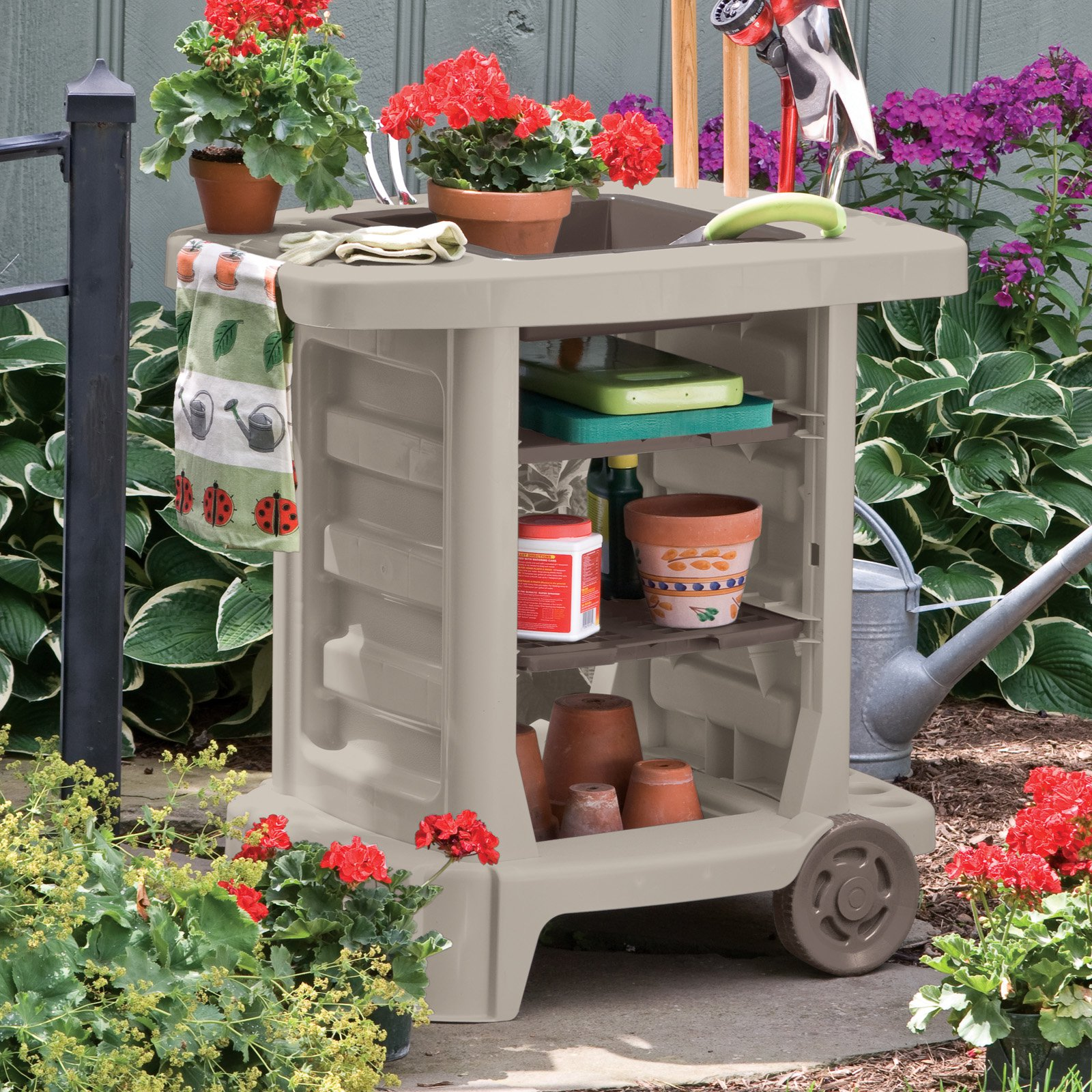 Suncast Garden Cart by Suncast