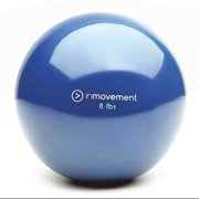 INMOVEMENT IM-WRBALL8-01 Weighted Ball,Blue,Silicone,8 lb. G1585328