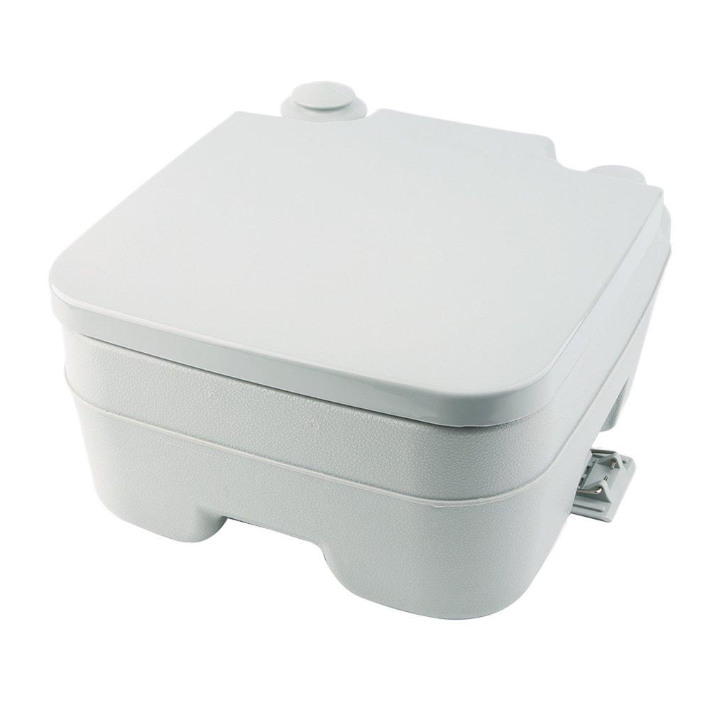 Portable Camping Toilet Loo Caravan Flush Travel Outdoor Potty ...