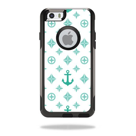 MightySkins Protective Vinyl Skin Decal for OtterBox Commuter iPhone 6 6S  wrap cover sticker skins Teal Designer - Walmart.com 622932914c