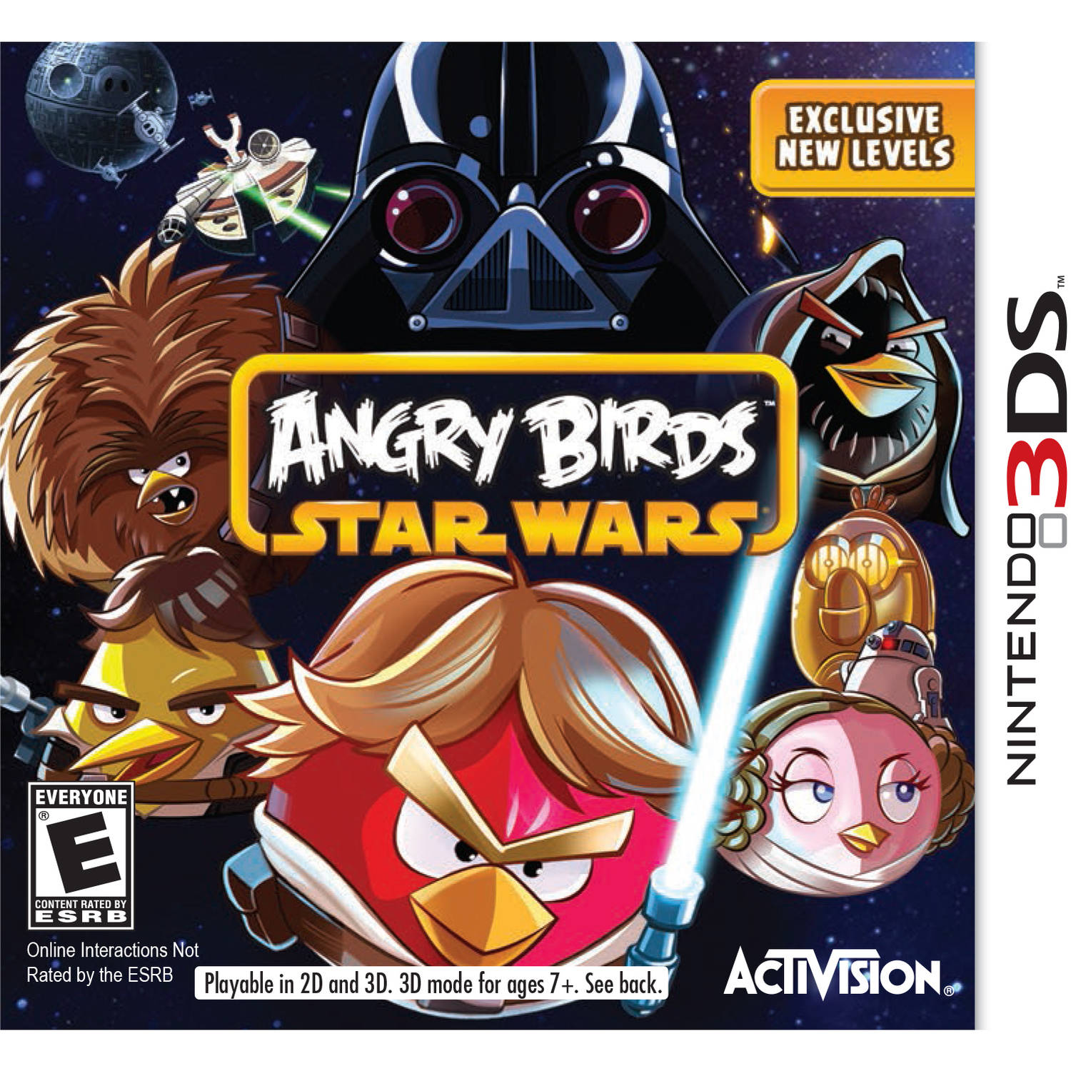 Angry Birds Star Wars (Nintendo 3DS)