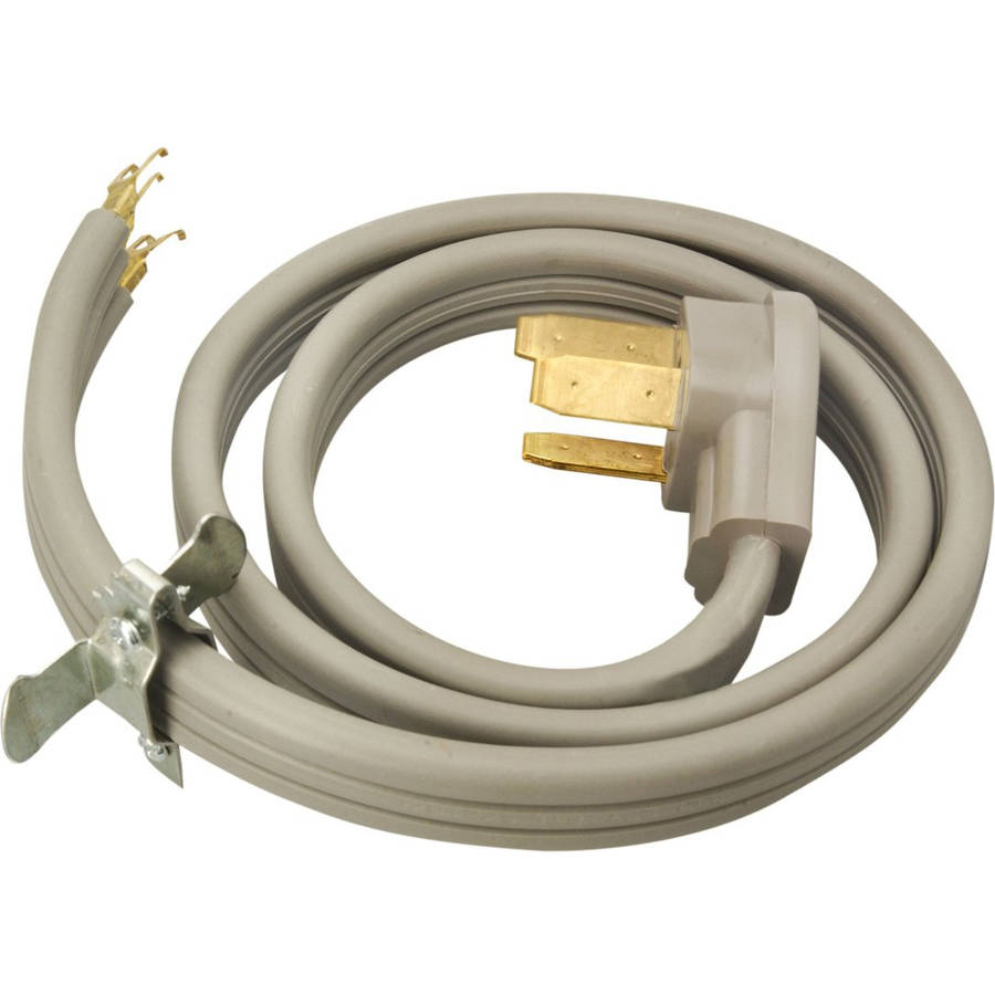 Coleman Cable 09014 4' 50-Amp 3-Wire Range Power Cord