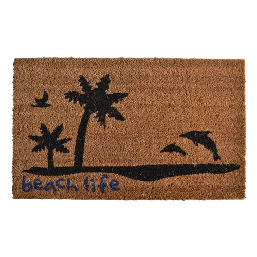 Imports Decor Molded Beach Life Doormat