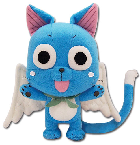 "Fairy Tail 8"" Anime Plush Happy by Great Eastern Entertainment Co."