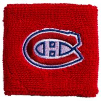 """Franklin Sports NHL Montreal Canadiens 2.5"""" Embroidered Wristbands"""