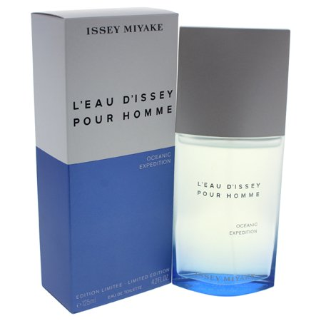 L'eau D'issey Pour Homme Oceanic Expedition by Issey Miyake for Men - 4.2 oz EDT Spray (Limited Edition)