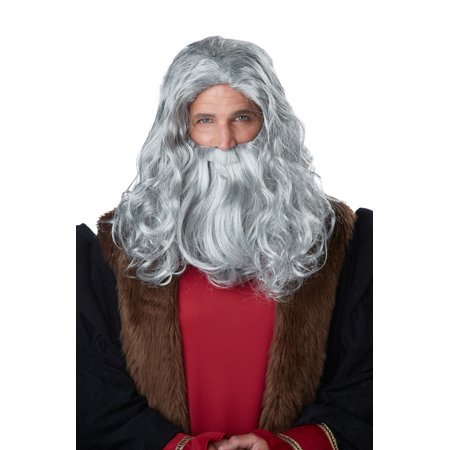 Leonardo Da Vinci Wig and Beard