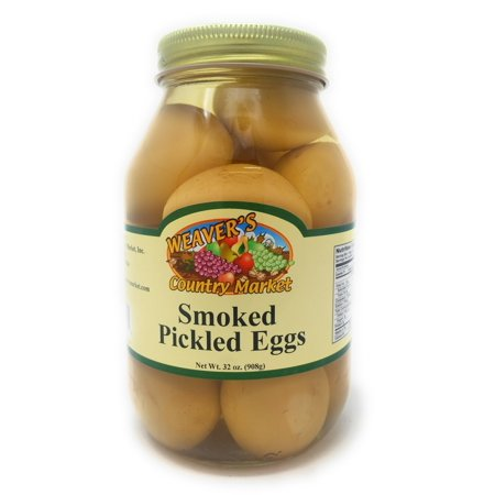 Weaver's Country Market Smoked Pickled Eggs