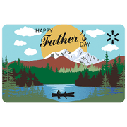 Father's Day Lake Walmart eGift Card