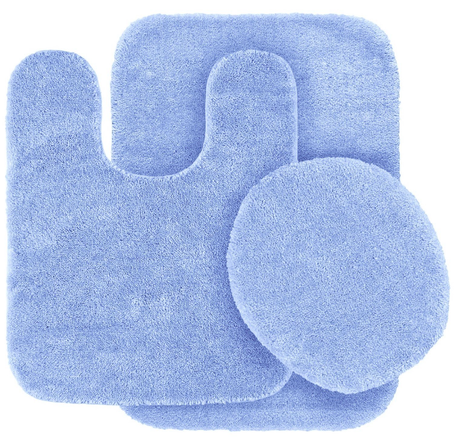 light blue bathroom rugs 3 pc light blue bathroom set bath mat rug contour and 19208