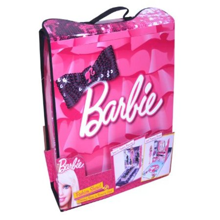 ZipBin Barbie Fashion Show Dressing Room and Runway Case