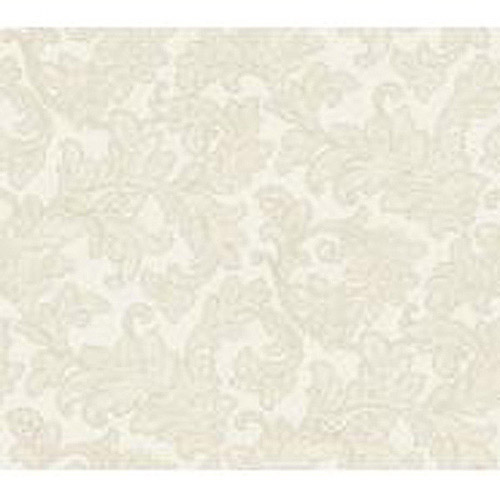 Waverly Classics Merletto Wallpaper, Flax/Taupe