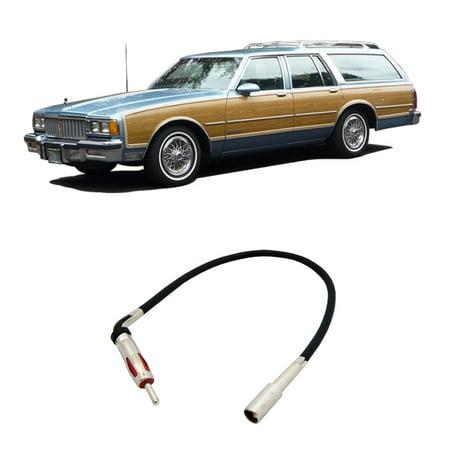 Pontiac Bonneville Safari 1987-1989 Factory Stereo to Aftermarket Radio Antenna