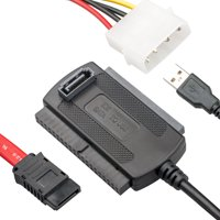 TSV Adapter/Converter, SATA/PATA/IDE Drive to USB 2.0 Adapter Converter Cable for Hard Drive Disk HDD 2.5 / 3.5inch