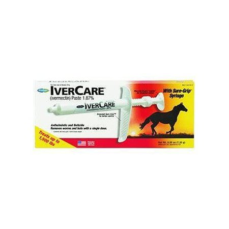 IVERCARE WORMER PASTE SYRINGE FOR HORSES(Pack of 1)