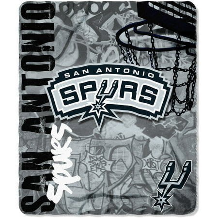 NBA San Antonio Spurs 40 X 40 Fleece Throw Walmart Interesting Spurs Throw Blanket
