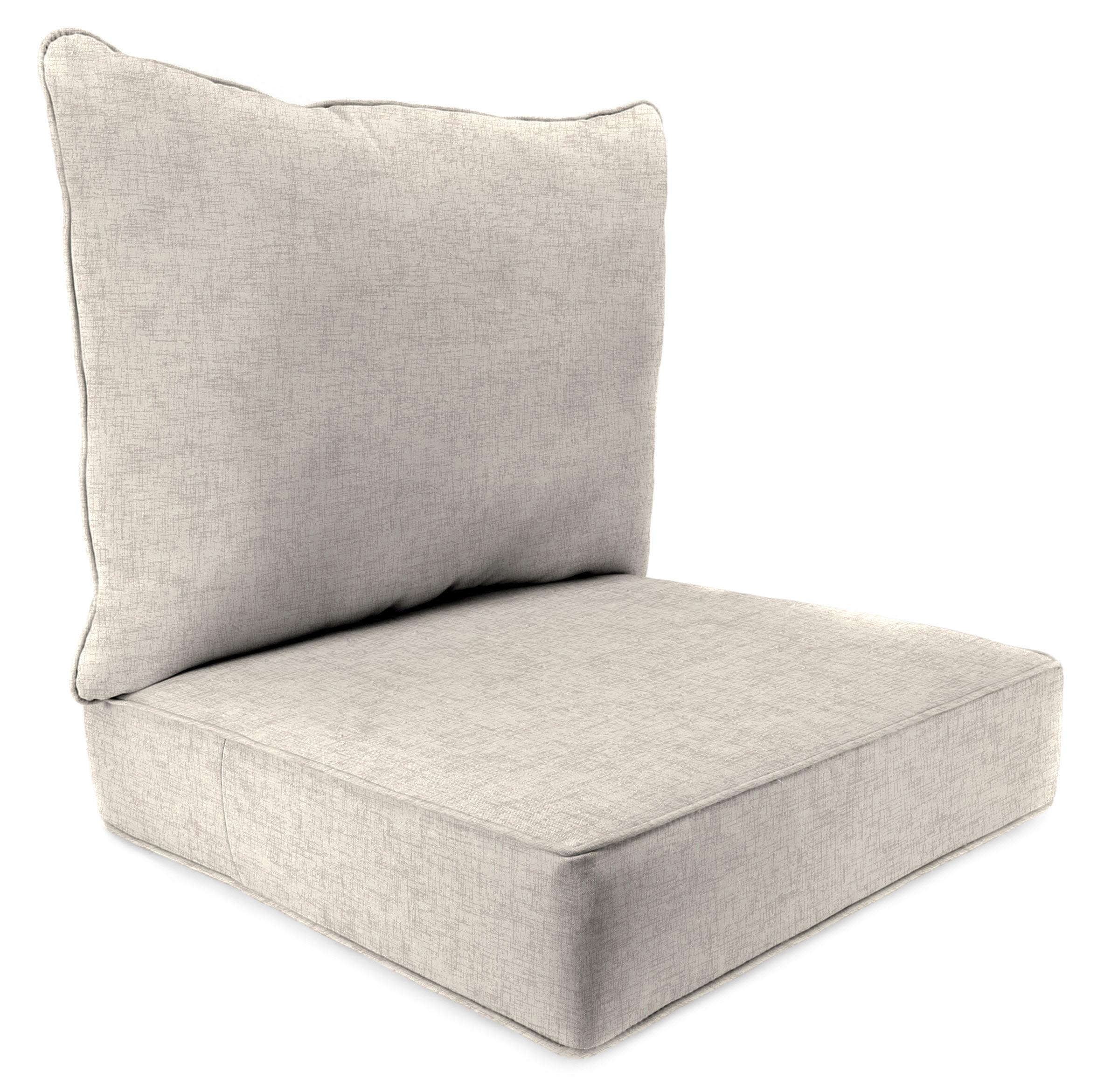 2 PC Deep Seat Chair Cushion by Jordan Manufacturing