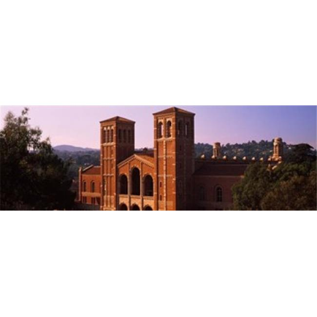 Panoramic Images PPI146625L Royce Hall at the campus of University of California  Los Angeles  California  USA Poster Print by Panoramic Images - 36 x 12 - image 1 of 1