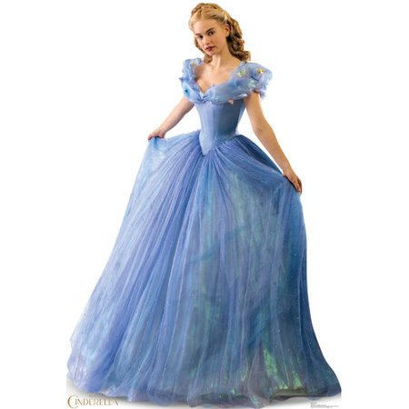Advanced Graphics Cinderella 2015 Cinderella Ball Gown Cardboard Standup (Cinderella In The Cardboard)