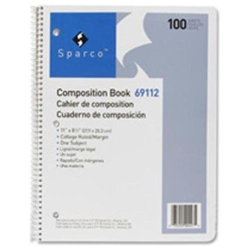 Sparco Spiral Composition Books 69112