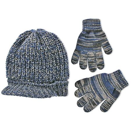 Radar Cap and Matching Gloves Cold Weather Set, Big Boys, Age 7-14