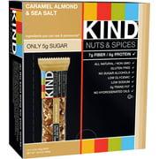 KIND Nuts & Spices Bars, Caramel Almond & Sea Salt, 1.4 oz, 12 Count