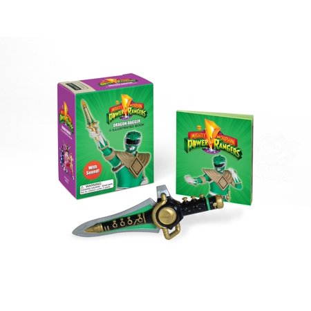 Mighty Morphin Power Rangers Dragon Dagger and Sticker Book : With Sound!