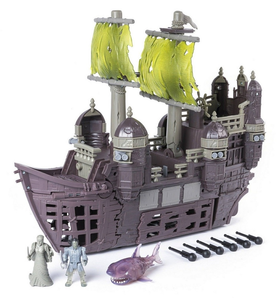 Disney Pirates of the Caribbean Silent Mary Ghost Ship Play Set by Disney