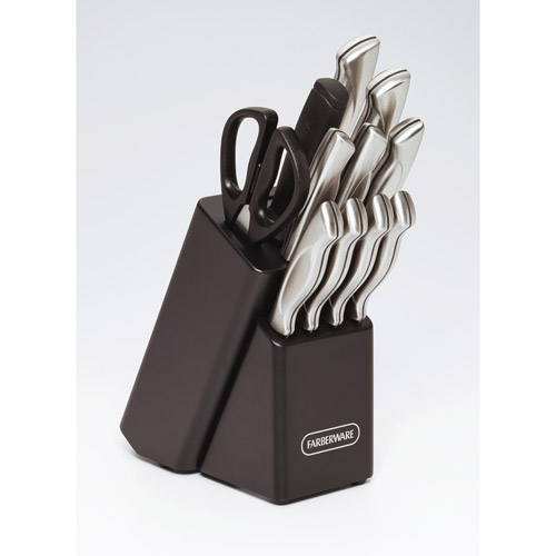 Farberware 12-Piece Stamped Stainless Steel Cutlery Set
