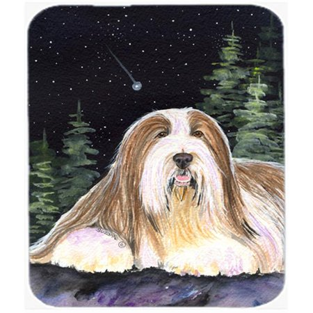 Carolines Treasures SS8529MP Starry Night Bearded Collie Mouse Pad, Hot Pad or Trivet - image 1 of 1