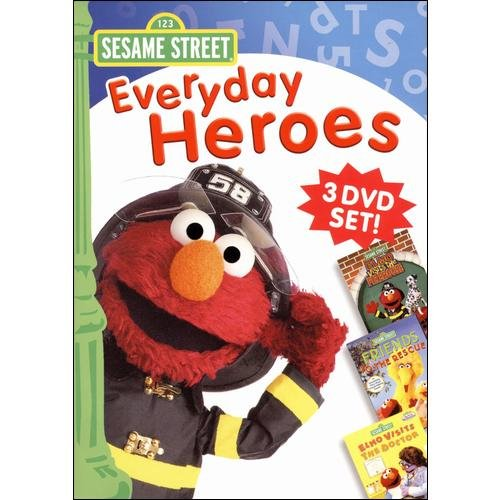 Sesame Street: Everyday Heroes 3-Pack (Full Frame)