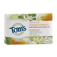 (3 pack) Tom's of Maine Beauty Bar Soaps, Orange, 5 Oz