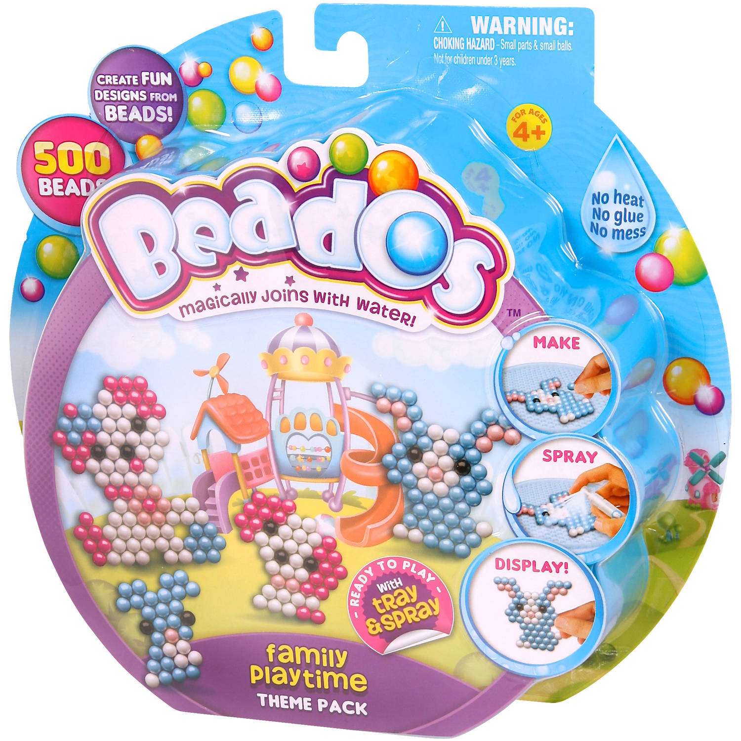 Moose Toys Beados Season 3 Theme Pack, Family Playtime